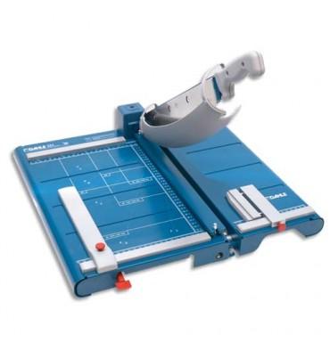 DAHLE Cisaille professionnelle 561 35 feuilles + table avant-dispositif de bandelette + laser - longueur de coupe 360 m
