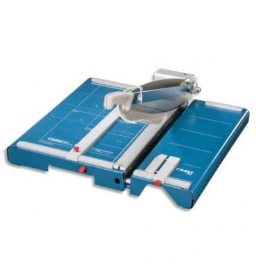 DAHLE Cisaille 867 A3 + table avant-dispositif de bandelette + laser capacité 35 feuilles, longueur de coupe 460 mm