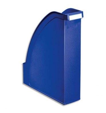 LEITZ Porte revues Leitz Plus - Bleu - H30 x P27,8 cm - Dos 7,8 cm