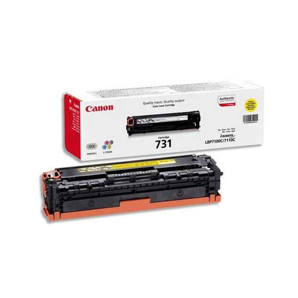 CANON Cartouche toner laser 731 jaune