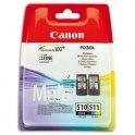 CANON Multipack PG-510 BK / CL-511 CL noir et couleur