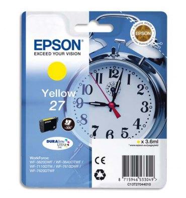 EPSON Cartouche jet d'encre jaune T2704