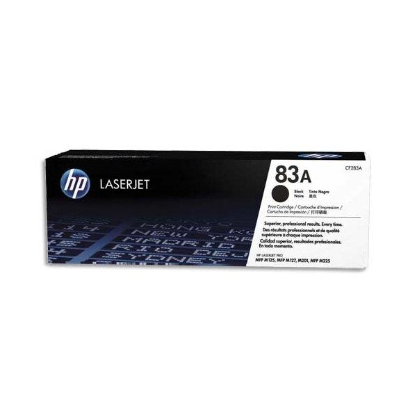 HP Cartouche toner laser noir 83A - CF283A