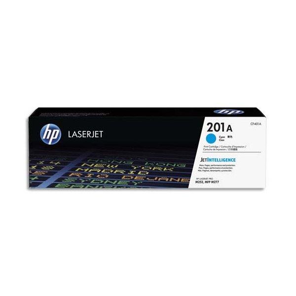 HP Cartouche toner laser cyan 201A - CF401A