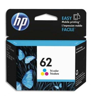 HP Cartouche jet d'encre couleurs N°62