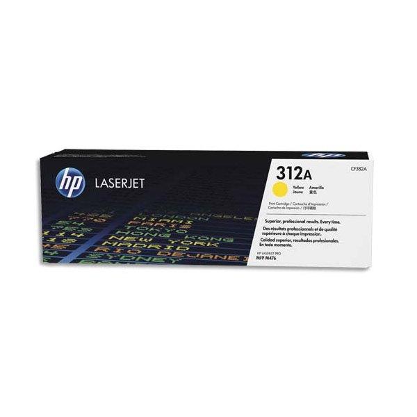 HP Cartouche toner laser jaune 312A - CF382A