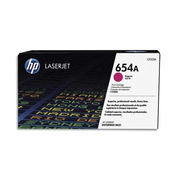 HP Cartouche toner laser magenta 654A - CF333A