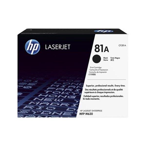 HP Cartouche toner laser noir 81A - CF281A