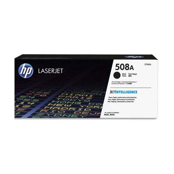 HP Cartouche toner laser noir 508A - CF360A