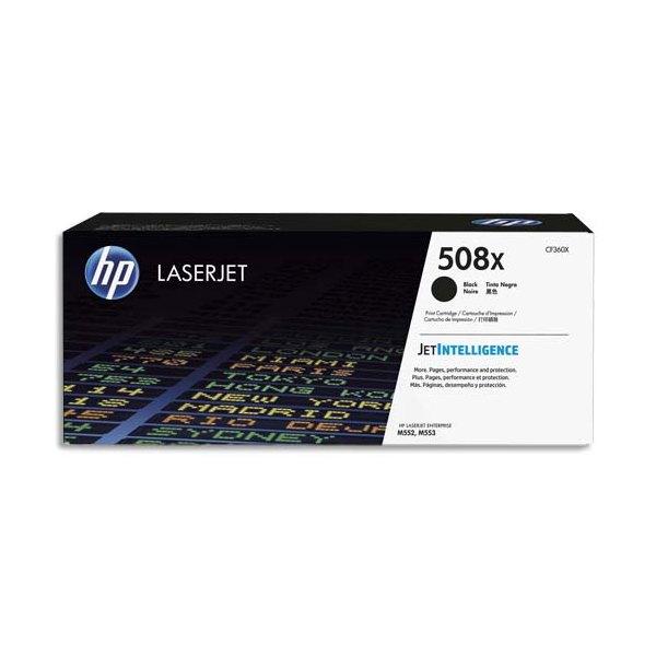 HP Cartouche toner laser haute capacité noir 508X - CF360X