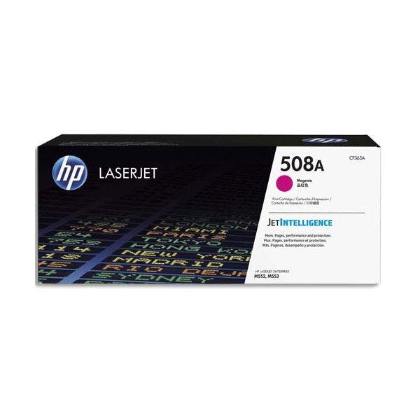 HP Cartouche laser magenta 508A - CF363A