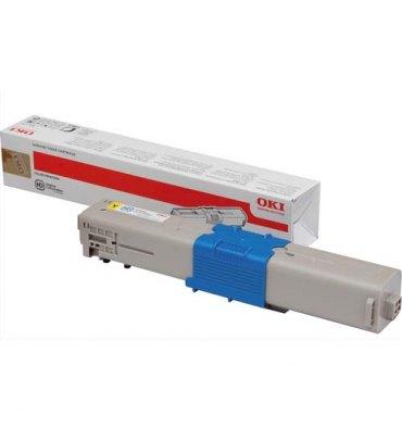 OKI Cartouche toner laser jaune 44973533