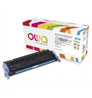 OWA BY ARMOR Cartouche toner laser cyan compatible HP Q6001A / Canon EP-707C