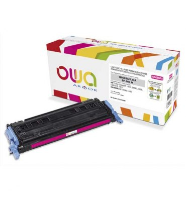 OWA BY ARMOR Cartouche toner laser magenta compatible HP Q6003A / Canon EP-707M
