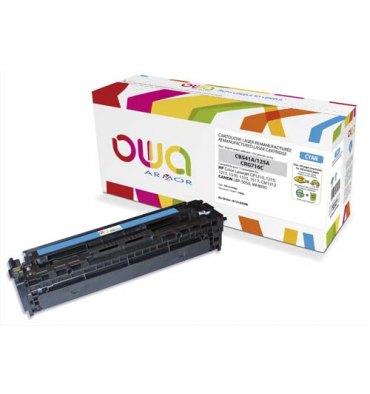 OWA BY ARMOR Cartouche toner laser cyan compatible HP CB541A / Canon CRG716C