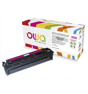 OWA BY ARMOR Cartouche toner laser magenta compatible HP CB542A / Canon CRG716M