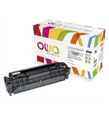 OWA BY ARMOR Cartouche toner laser noir compatible HP CC530A / CANON CRG718BK