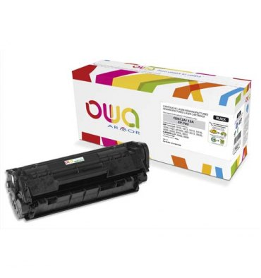 OWA BY ARMOR Cartouche toner compatible laser noir HP Q2612A / Canon EP-703