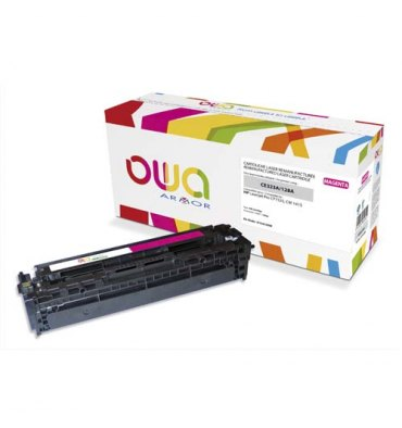 OWA BY ARMOR Cartouche toner laser magenta compatible HP CE323A