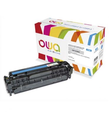 OWA BY ARMOR Cartouche toner laser cyan compatible HP CE411A