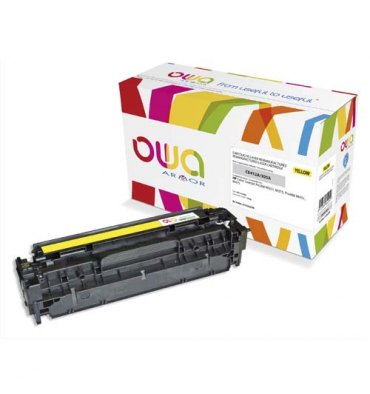 OWA BY ARMOR Cartouche toner laser jaune compatible HP CE412A