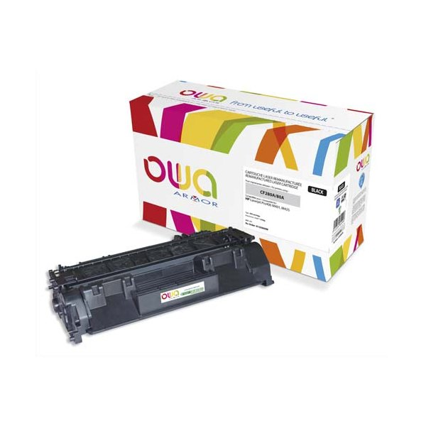 OWA BY ARMOR Cartouche toner laser compatible HP CF280A / 80A