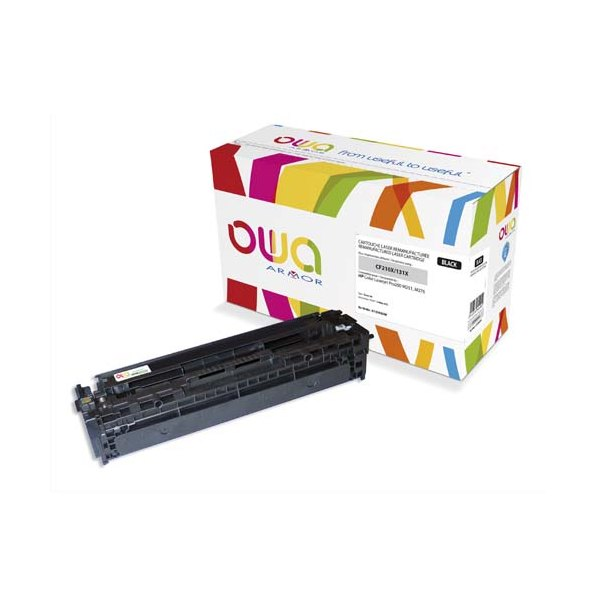 OWA BY ARMOR Cartouche toner laser noir compatible HP CF210X / CANON 731H