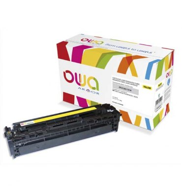 OWA BY ARMOR Cartouche toner laser jaune compatible HP CF212A / CANON 731Y