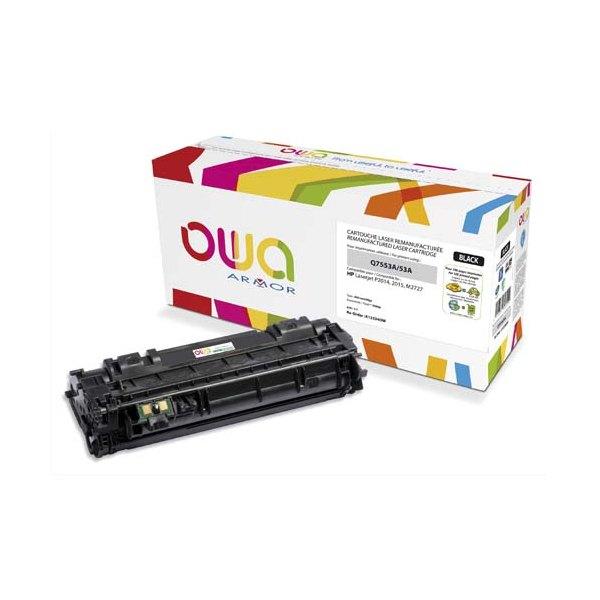 OWA BY ARMOR Cartouche toner laser noir compatible HP Q7553A / 53A