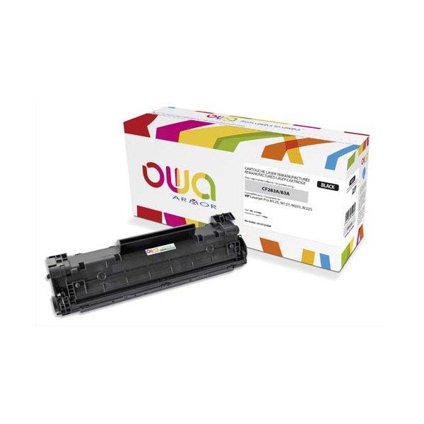 OWA BY ARMOR Cartouche toner laser noir compatible HP CF283A / 83A