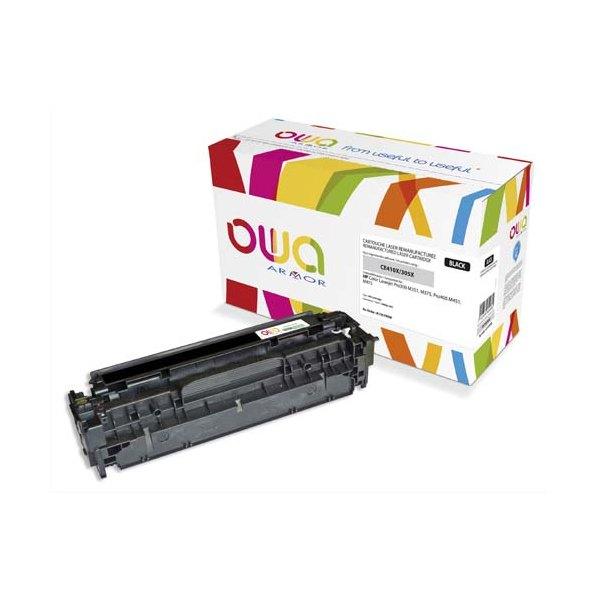 OWA BY ARMOR Cartouche toner laser noir compatible HP CE410X