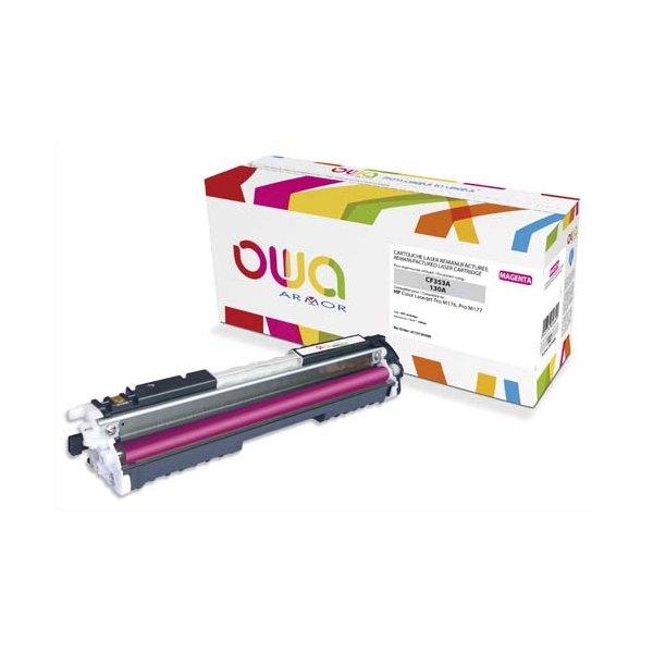 OWA BY ARMOR Cartouche toner laser magenta compatible HP CF353A
