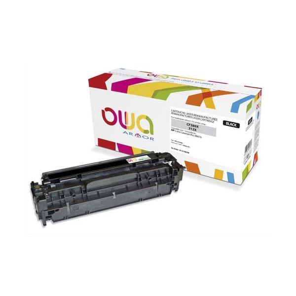 OWA BY ARMOR Cartouche toner laser noir compatible HP CF380X / 312X