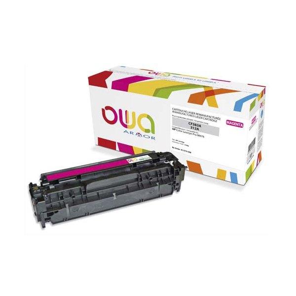 OWA BY ARMOR Cartouche toner laser magenta compatible HP CF383A / 312A