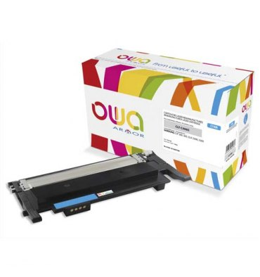 OWA BY AMOR Cartouche toner laser compatible cyan Samsung CLTC-406S