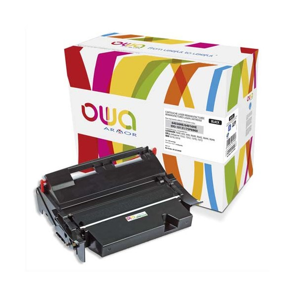 OWA BY ARMOR Cartouche toner laser compatible IBM 75P6960 - DELL 593-10131 - Lexmark 640336HE / 64016CHE