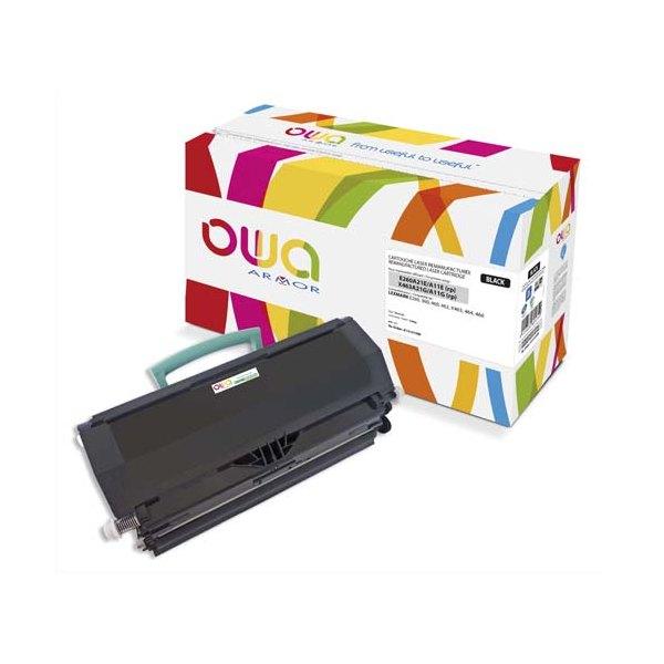 OWA BY ARMOR Cartouche toner laser noir compatible Lexmark E260A11E