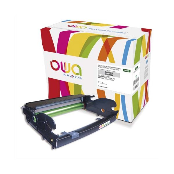 OWA BY ARMOR Tambour laser compatible LEXMARK E260X22G / DELL 593-10338