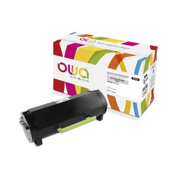 OWA BY ARMOR Cartouche toner laser noir compatible Lexmark 50F2U00