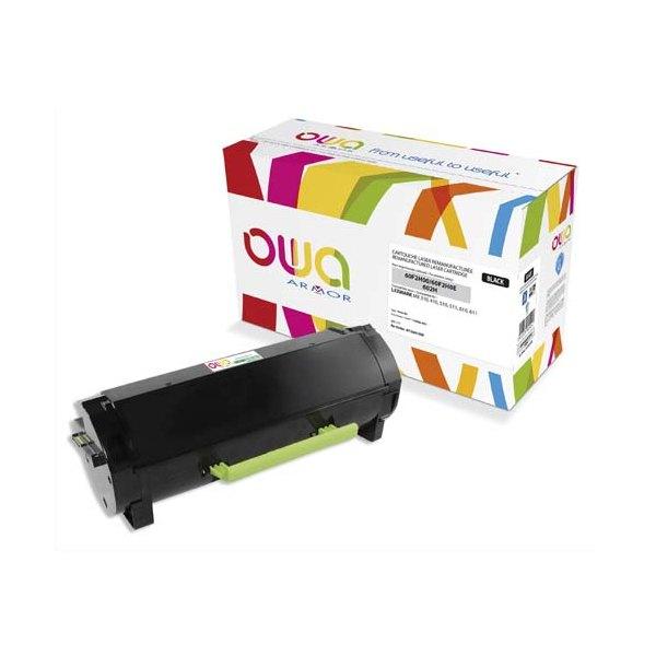 OWA BY ARMOR Cartouche toner laser noir compatible Lexmark 60F2H00