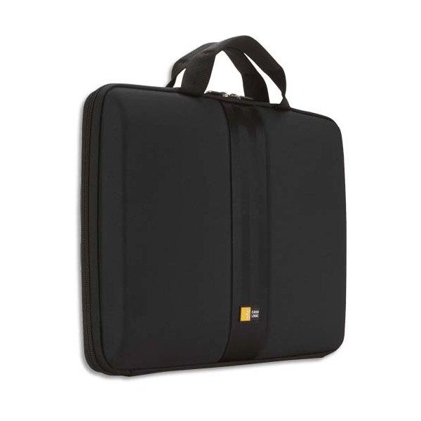 CASE LOGIC Housse semi rigide avec poignée pour PC portable de 12'' à 13,3'' - noir