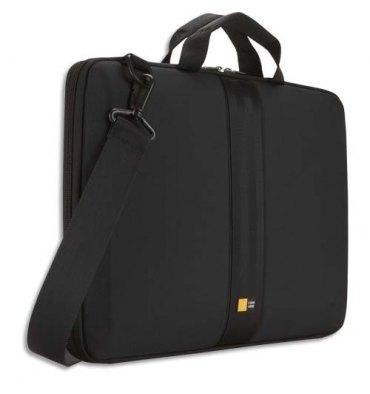 CASE LOGIC Housse semi rigide avec poignée pour PC portable de 14'' à 16'' - noir