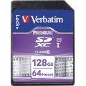 VERBATIM Carte SDXC 128Go Premium Class 10 44025 + redevance