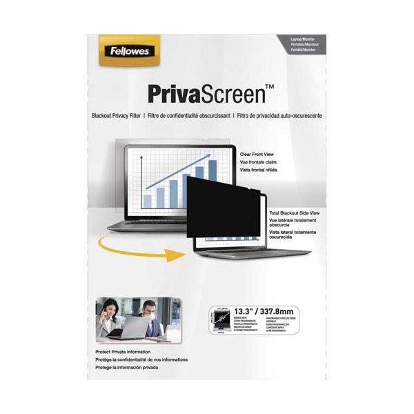 FELLOWES Filtre de confidentialité PrivaScreen 13,3'' (16/9) pour ordinateurs (photo)