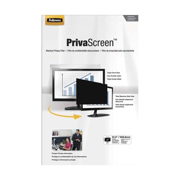FELLOWES Filtre de confidentialité PrivaScreen 22'' (16/9) pour ordinateurs (photo)