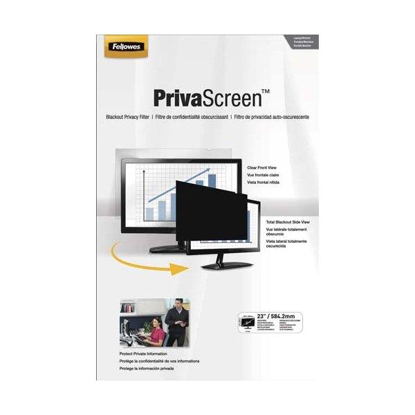 FELLOWES Filtre de confidentialité PrivaScreen 23' (16/9) pour ordinateurs (photo)