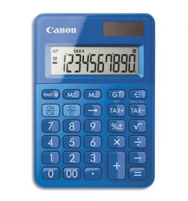 CANON Calculatrice de poche LS-100K Bleue