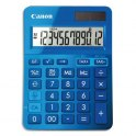CANON Calculatrice de bureau à 12 chiffres LS-123K, coloris bleu