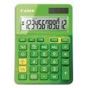CANON Calculatrice de bureau à 12 chiffres LS-123K, coloris vert