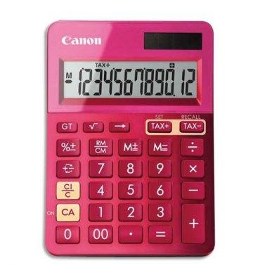 CANON Calculatrice de bureau à 12 chiffres LS-123K, coloris rose